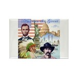 America the Great Rectangle Magnet (100 pack)