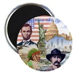 """America the Great 2.25"""" Magnet (10 pack)"""
