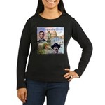America the Great Women's Long Sleeve Dark T-Shirt