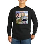 America the Great Long Sleeve Dark T-Shirt