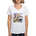 America the Great Women's V-Neck T-Shirt