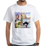America the Great White T-Shirt