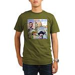 America the Great Organic Men's T-Shirt (dark)