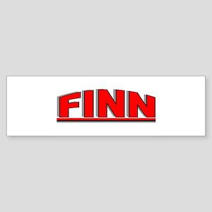 """""""Finn"""" Bumper Sticker"""