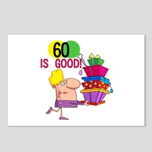 60 is Good Postcards (Package of 8)