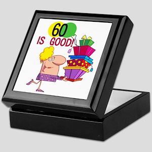 60 is Good Keepsake Box