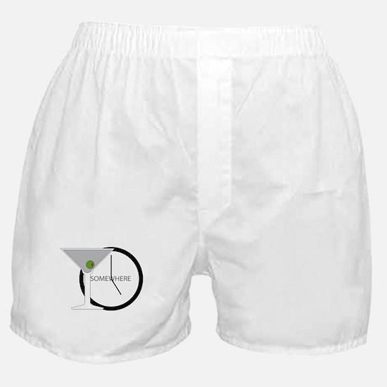 Cute Martini Boxer Shorts