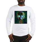 Sticks and Bones Skull2 Long Sleeve T-Shirt