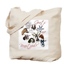 Goats are Beautiful Tote Bag