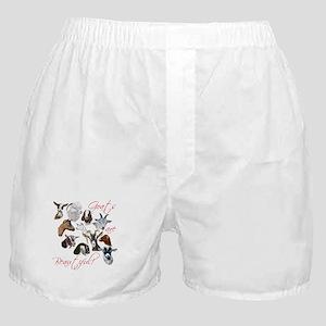 Goats are Beautiful Boxer Shorts