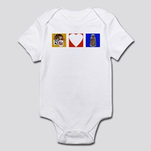 Tigers Love Pepper Infant Bodysuit
