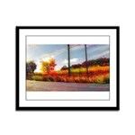 Autumn In Napa 2 - Framed Panel Print
