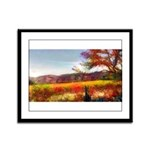 Autumn In Napa 1 - Framed Panel Print