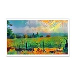 Napa Vineyard 1 20x12 Wall Decal