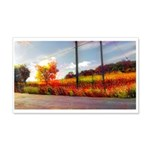 Autumn In Napa 20x12 Wall Decal