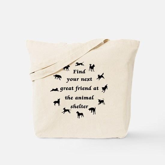 Next Great Friend Tote Bag