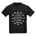Next Great Friend Kids Dark T-Shirt