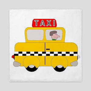 Yellow Taxi Queen Duvet