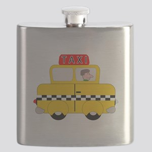 Yellow Taxi Flask