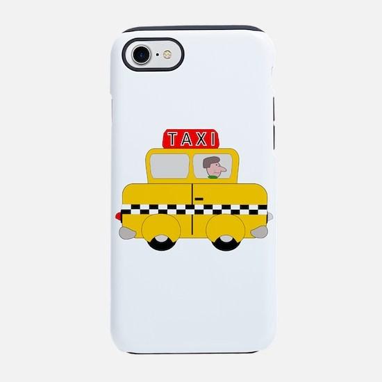Yellow Taxi iPhone 7 Tough Case