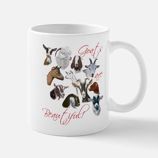 Goats are Beautiful Mug