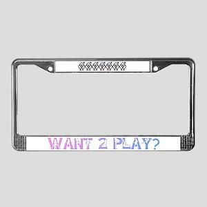 SWINGERS SYMBOL FMF GRAY License Plate Frame