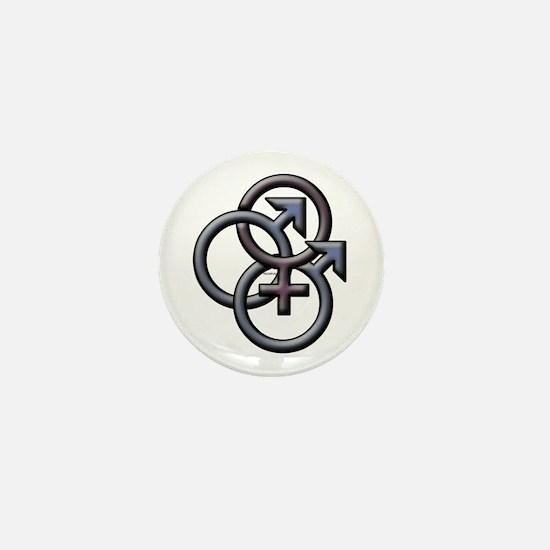 MFM SWINGERS SYMBOL GRAY Mini Button