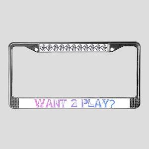MFM SWINGERS SYMBOL GRAY License Plate Frame