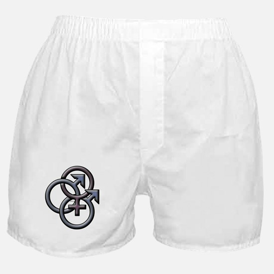 MFM SWINGERS SYMBOL GRAY Boxer Shorts