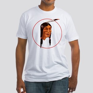 The Laughing Indian Fitted T-Shirt