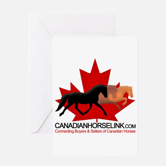 Canadian Horse Link Greeting Card
