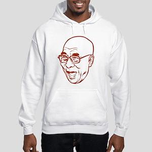 Laughing Dalai Lama Hooded Sweatshirt