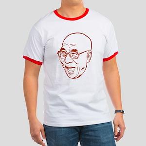 Laughing Dalai Lama Ringer T