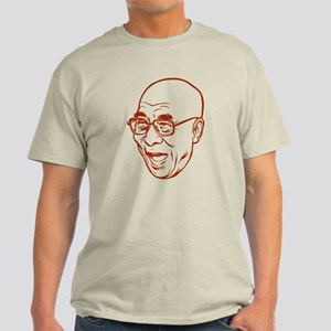 Laughing Dalai Lama Light T-Shirt