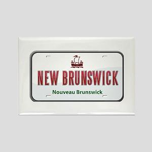 New Brunswick Plate Rectangle Magnet