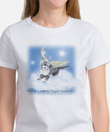 I Believe There Are ANgels Among Us Women's T-Shir