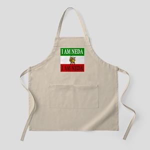 I Am Neda on new Iraninan Lion/Sun Flag Design BBQ