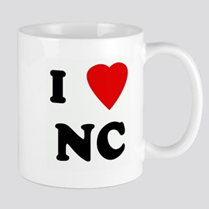 I Love NC Mug