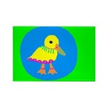 Duck Rectangle Magnet (100 pack)