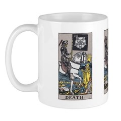 13 Tarot Death Card Mug