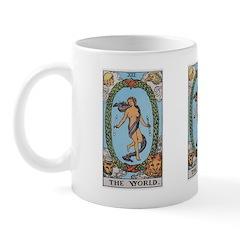 21 Tarot World Mug