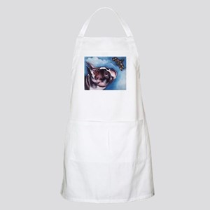 Boston Terrier and Dragonfly BBQ Apron