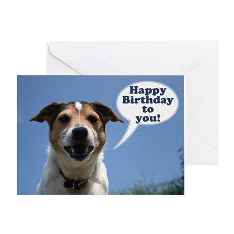 Happy birthday card cheeky jack russell greeting by valentinodesign happy birthday card cheeky jack russell greeting bookmarktalkfo Image collections