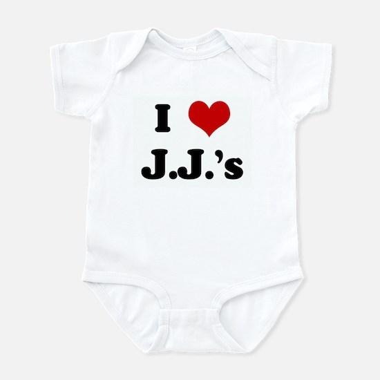 I Love J.J.'s Infant Bodysuit