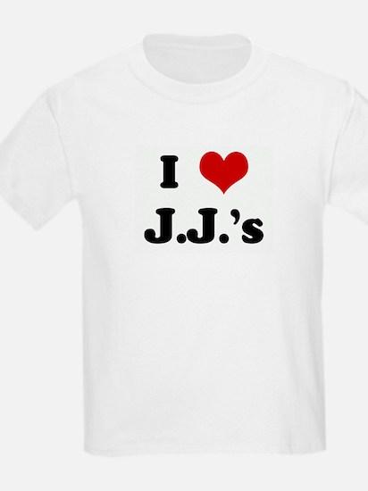 I Love J.J.'s T-Shirt