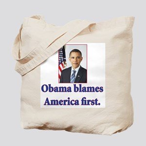 Anti Barack Obama Tote Bag
