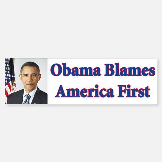 Anti Barack Obama Bumper Bumper Bumper Sticker