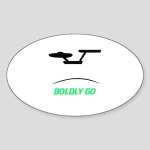 Star Trek Oval Sticker