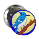 """Blue Jay 2.25"""" Button (100 pack)"""