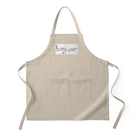 Bunny Lover BBQ Apron